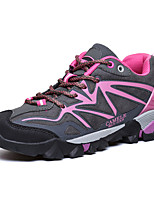 Women's Athletic Shoes Spring / Summer / Fall / Winter Comfort PU / Microfibre Outdoor / Athletic / Casual Flat Heel Lace-upGreen / Pink