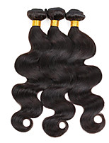 3 bundles Indian Body Wave Human Hair Weave Extensions 300g