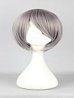 особый стиль младший лига Адзума Kouichi классический серый 30см короткий прямой парик косплей