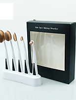 5 Contour Brush / Makeup Brushes Set / Blush Brush / Eyeshadow Brush / Lip Brush / Brow Brush / Foundation Brush Nylon / Synthetic Hair