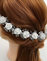 Dam Kristall / Legering / Akryl Headpiece-Bröllop / Speciellt Tillfälle / Casual Blommor 1 st.