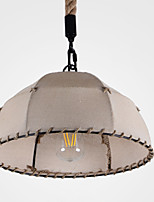 40w מנורות תלויות ,  רטרו / גס צביעה מאפיין for מעצבים בד חדר שינה / חדר אוכל / מטבח / חדר עבודה / משרד