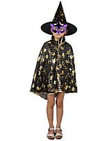 1шт Хэллоуин зачарователь плащ женский плащ плащ ведьмы костюма партии