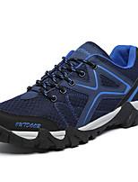 Синий / Красный / Белый / Хаки / Тёмно-синий-Мужской-На каждый день-Полиуретан-На плоской подошве-Удобная обувь-Ботинки
