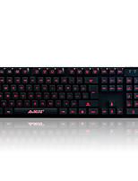 Игровая клавиатура механический сенсорный, 3-цветная подсветка, 19key анти-ореолы а-джаз киборг солдат
