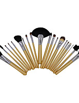 21 Makeup Brushes Set Goat Hair Portable Wood Face G.R.C / Send Package