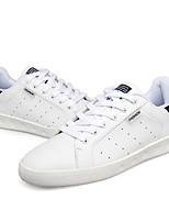 Unisex Sneakers Spring / Fall Comfort PU Casual Flat Heel  Black / Blue / Green / Red / White Sneaker