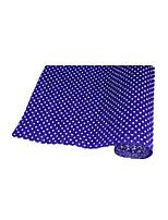 (Обратите внимание, упакованные продажи десяти цветов темно-фиолетового) снег точки керлинг бумаги