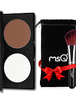 MSQ/Spirit's Silk Chloe Double-Color Grooming Powder Highlights The Shadow Nasal Xiu Yan Silhouette Makeup Powdery Cake
