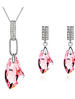 Thousands of colors  Jewelry Necklaces / Earrings Jewelry  Daily 1set Women -9-1-506-2-212