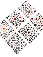 12pcs Nail Art Sticker Autocolantes de Unhas 3D maquiagem Cosméticos Prego Design Arte
