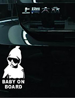 Baby Reflective Warning Sticker