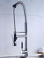 Contemporary / Art Deco/Retro / Modern Tall/High Arc / Pull-out/Pull-down / Standard Spout Vessel Pullout Spray