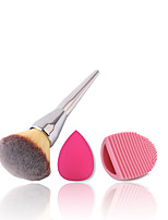 1 Contour Brush / Blush Brush / Powder Brush / Foundation Brush Nylon Professional / Travel / Eco-friendly / Portable Metal Face Others