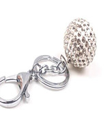 Full Of Drilling Ball Alloy Key Ring