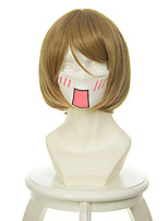 Love Live! Hanayo Koizumi Flaxen Short Halloween Wigs Synthetic Wigs Costume Wigs