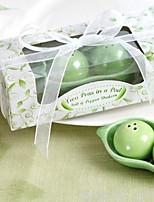Festa de Casamento Party Favors & Gifts-3Peça/Conjunto Presentes Cerâmica Tema vintage Cubóide Não-Personalizado Verde