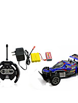 Car Racing 566-108 110 Brush Electric RC Car / 2.4G Red / Blue Ready-To-Go Remote Control Car