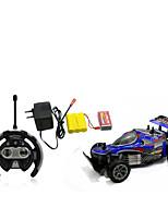 Auto Da corsa 566-108 1:10 Elettrico con spazzola RC Auto / 2.4G Rosso / Blu Pronto all'uso Auto di controllo remoto