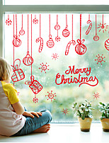Christmas / Fashion /  / Mirror Wall Stickers Decorative Wall Stickerspvc Material Removable