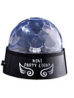 LED Crystal Magic Ball Stage Effect Lighting Lamp Night Light Bulb KTV Xmas Party Disco Club DJ Light