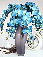 1 Branch 1 Филиал Шелк / Недвижимость сенсорный Орхидеи Букеты на стол Искусственные Цветы Total Length:38