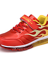Garçon-Extérieure Décontracté Sport-Bleu Rouge-Talon Plat-Confort-Chaussures d'Athlétisme-Polyuréthane