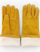 термостойкие износостойкие сварочные перчатки (желтый)