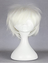 de alta qualidade Tokyo Ghoul kaneki ken sintética dia das bruxas festa curto branco da forma peruca cosplay