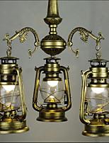 3W Lampe suspendue ,  Traditionnel/Classique Peintures Fonctionnalité for LED MétalSalle de séjour / Chambre à coucher / Salle à manger /