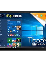 Teclast Tbook-10 Windows 10 / Android 5.1 Tableta RAM 4GB ROM 64GB 10.1 pulgadas 1920*1200 Quad Core