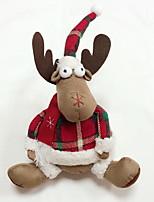 boa qualidade decoração do Natal veados sessão