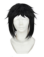 Artist wild dogs Akutagawa Ryunosuke temples gradient short black hair cosplay animation wig