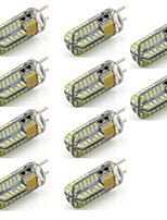 2 G6.35 Двухштырьковые LED лампы T 48 SMD 3014 260 lm Тёплый белый / Холодный белый Декоративная AC 12 V 10 шт.