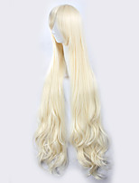 Kagerou Project Sakura Jasmine Light Golden Yellow Long Curly Hair Halloween Wigs Synthetic Wigs Costume Wigs