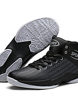 Men's Athletic Shoes Fashion High Top Shoes Casual Basketball Shoes Flat Heel Lace-up More Color EU39-43