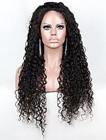 10-24 Inch Brazilian Virgin Hair 150% Density Live Curly Glueless Full Lace Wig