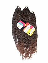 Senegal Twist  T4/30 Synthetic Hair Braids 18inch 20inch 22inch Kanekalon 81 Strands 200g  Multipal Pack for Full Heads