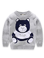 Boy's Casual/Daily Animal Print Sweater & CardiganCotton Fall Blue / Red / Gray