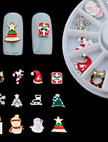 1Pcs  Nail Art Decoration Christmas Series  Christmas Gifts