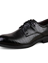 Men's Oxfords Spring / Summer / Fall / Winter Comfort PU / Microfibre Wedding / Office & Career / Party & Evening / Casual Low Heel