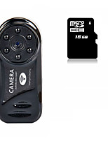 Other פלסטיק Mini Camcorder 720P / Microphone / WIFI שחור 1.4