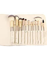 12 Blush Brush / Eyeshadow Brush / Brow Brush / Eyeliner Brush Professional / Travel / Full Coverage Plastic