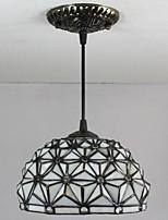 25W Lampe suspendue ,  Tiffany / Vintage Peintures Fonctionnalité for Style mini Métal Salle de séjour / Entrée