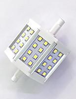 7 R7S LED corn žárovky T 24LED SMD 2835 680LM-800LM lm Teplá bílá / Chladná bílá Ozdobné AC 85-265 V 1 ks