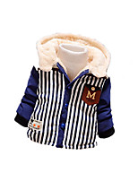 Boy's Casual/Daily Striped Down & Cotton PaddedCotton Winter / Spring / Fall Blue