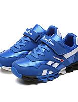 Para Meninos-Tênis-Conforto-Salto Baixo-Azul / Rosa / Vermelho-Couro / Camurça-Ar-Livre / Casual / Para Esporte