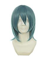 Shakugan No Shana Konoe Seto Minami Jyuji Kasodani Kyouko Mixed Pinkish Blue Halloween Wigs Synthetic Wigs Costume Wigs