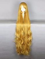 Halloween GOSICK-Victorique De Blois 110CM Long Wavy Yellow High Quality Lolita Fashion Party Cosplay Wig