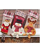 Санта чулок рождественские украшения
